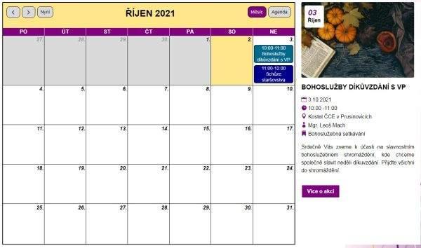 Design kalendáře